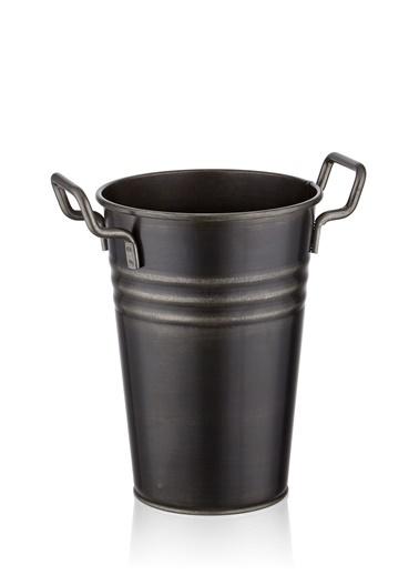 The Mia Vazo 30 Cm - Siyah Siyah